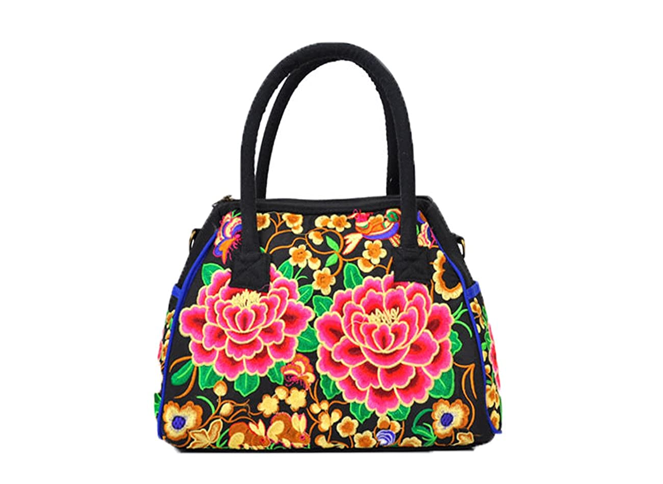 Embroidered Bag Handbag...
