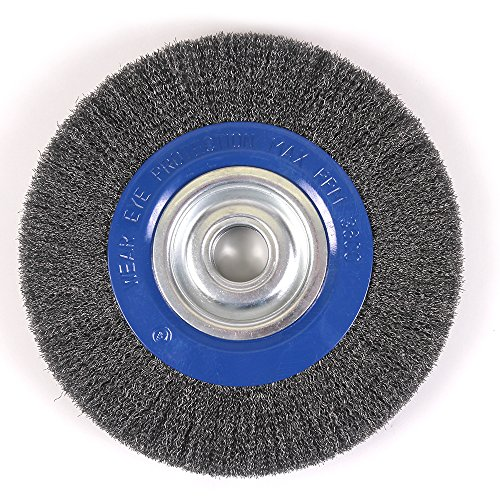 Steel Wire Wheel Brush With Shaft Adapters For 6 Quot And 8