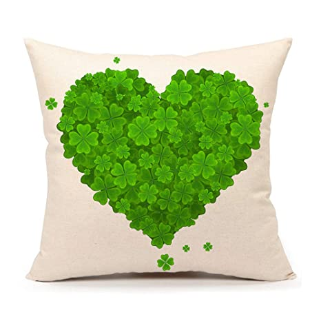 Amazon.com: 4TH Emotion St. Patricks - Funda de cojín para ...