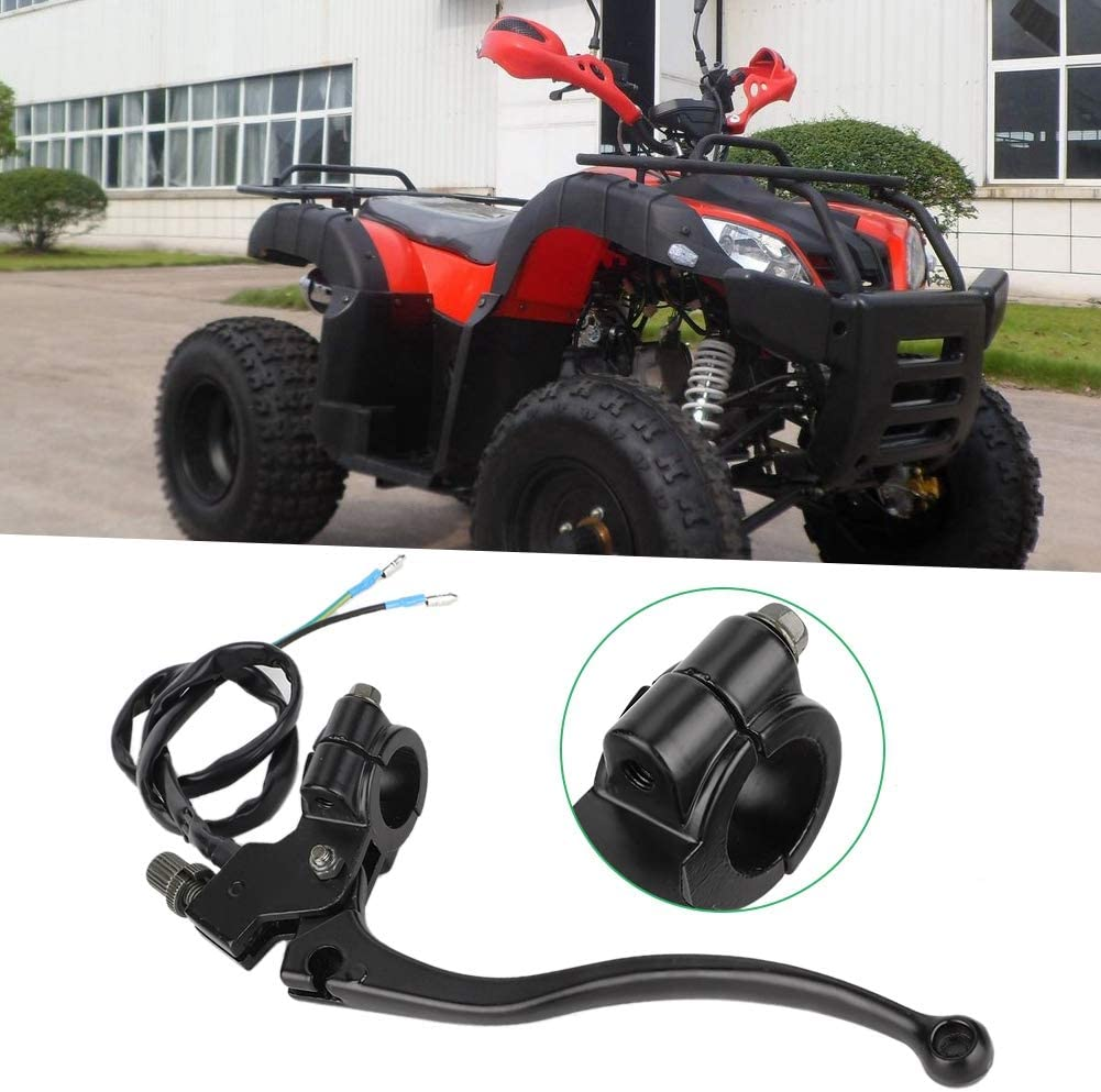 Brake Lever Clutch Handlebar,Motorcycle Clutch Lever Handle With Line Replacement Fit for ATV 150 200 250 300cc