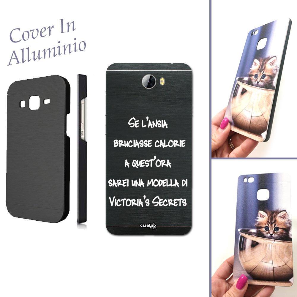 CaseLabDesigns Carcasa Funda Aluminio Frase Dimensione para Huawei ...