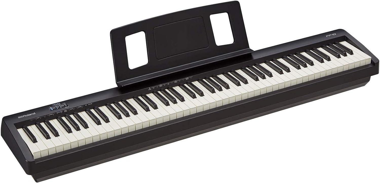 ROLAND FP-10, Piano Digital, Negro