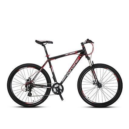 Full Suspension Mountain Bikes Bicycle Warehouse >> Amazon Com Vtsp Mountain Bike 24 Speed Dual Disc Brakes Suspension