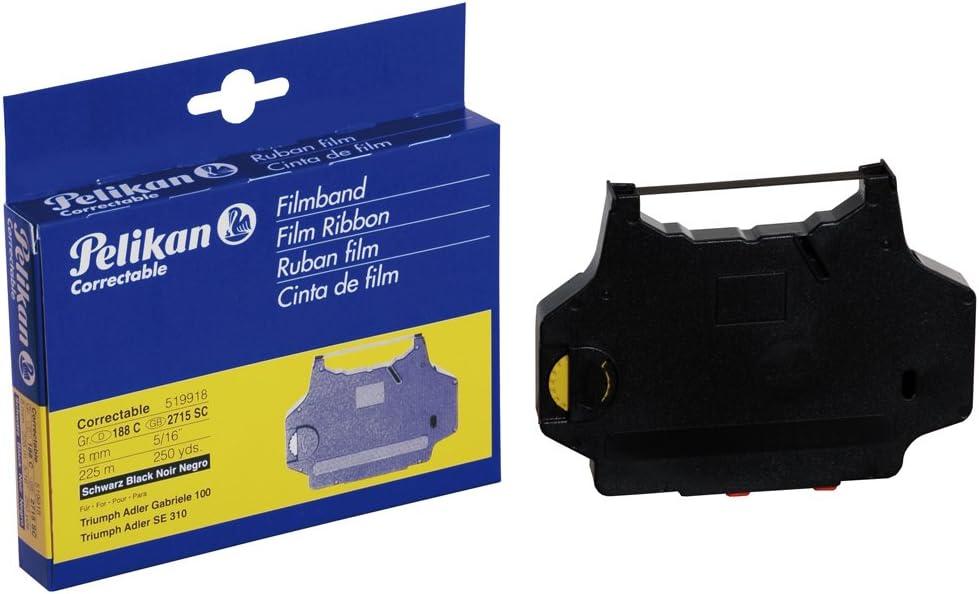 Farbband f/ür die Triumph-Adler SE 610 DS Schreibmaschine kompatibel Marke Faxland