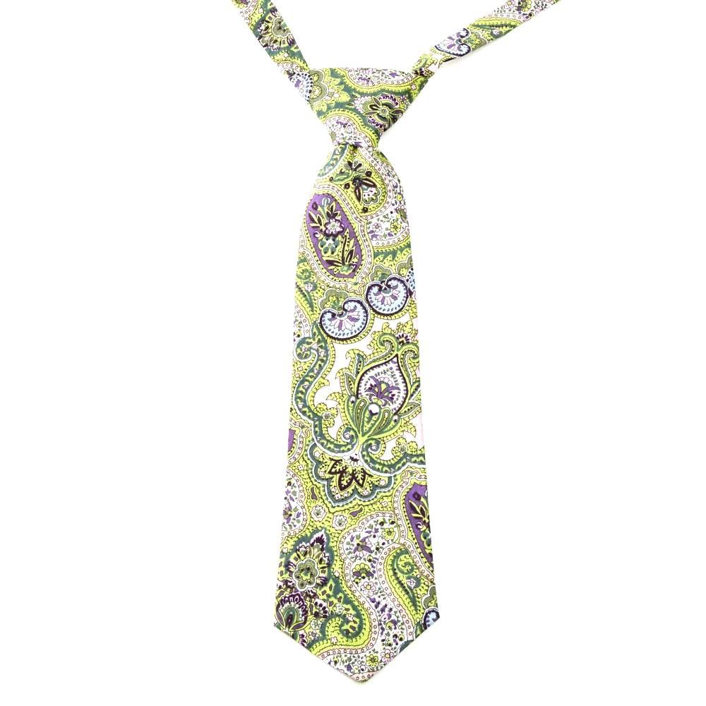 Peppercorn Kids Boys Necktie Exotic Paisley