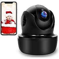 SUPEREYE 1080P Camara Vigilancia, Camara de Vigilancia WiFi Interior FHD con Visión Nocturna, Detección de Movimiento…