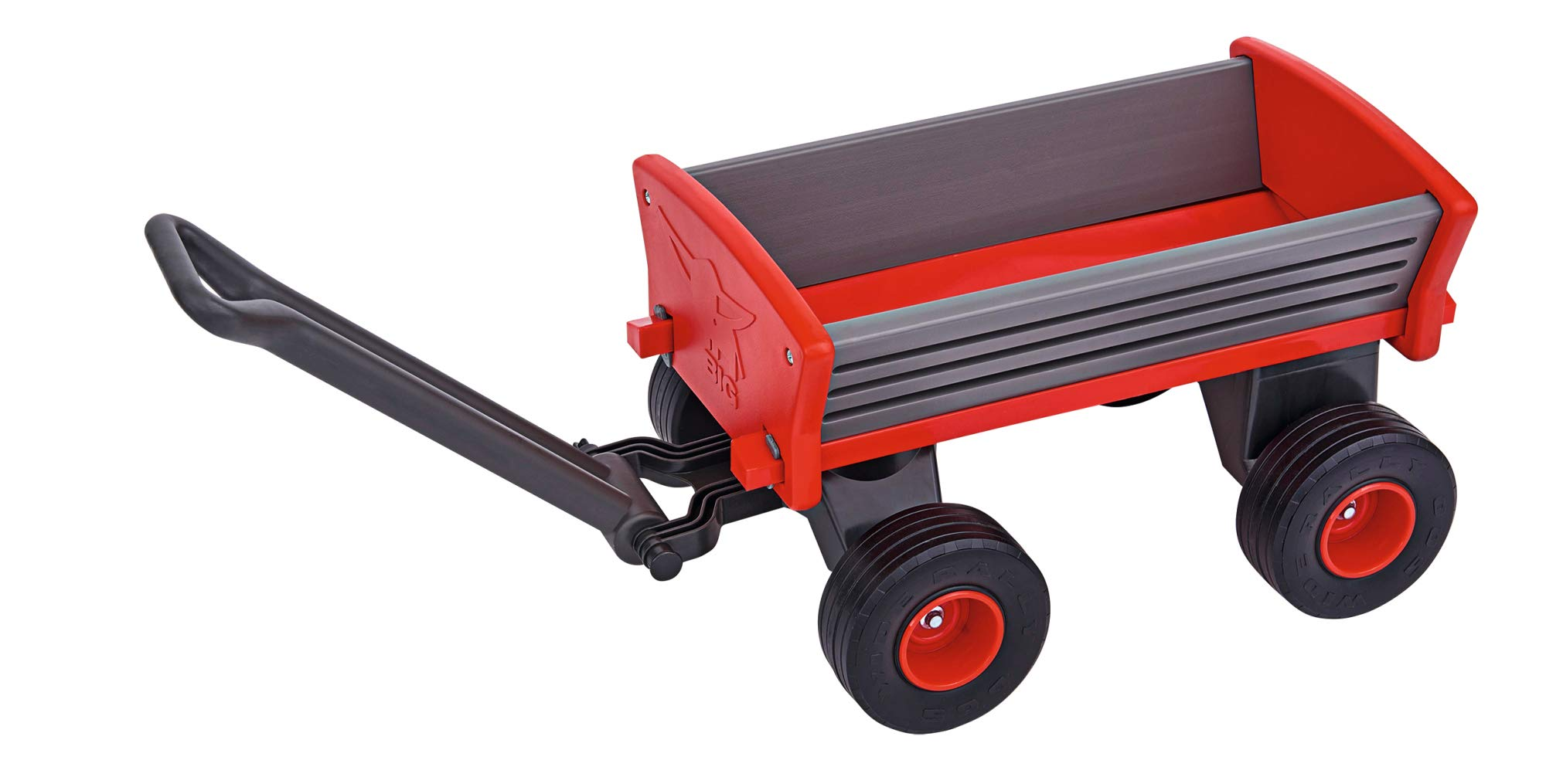 BIG Spielwarenfabrik Big-Peppy 800056602 Hand Trolley Grey/Black/Red