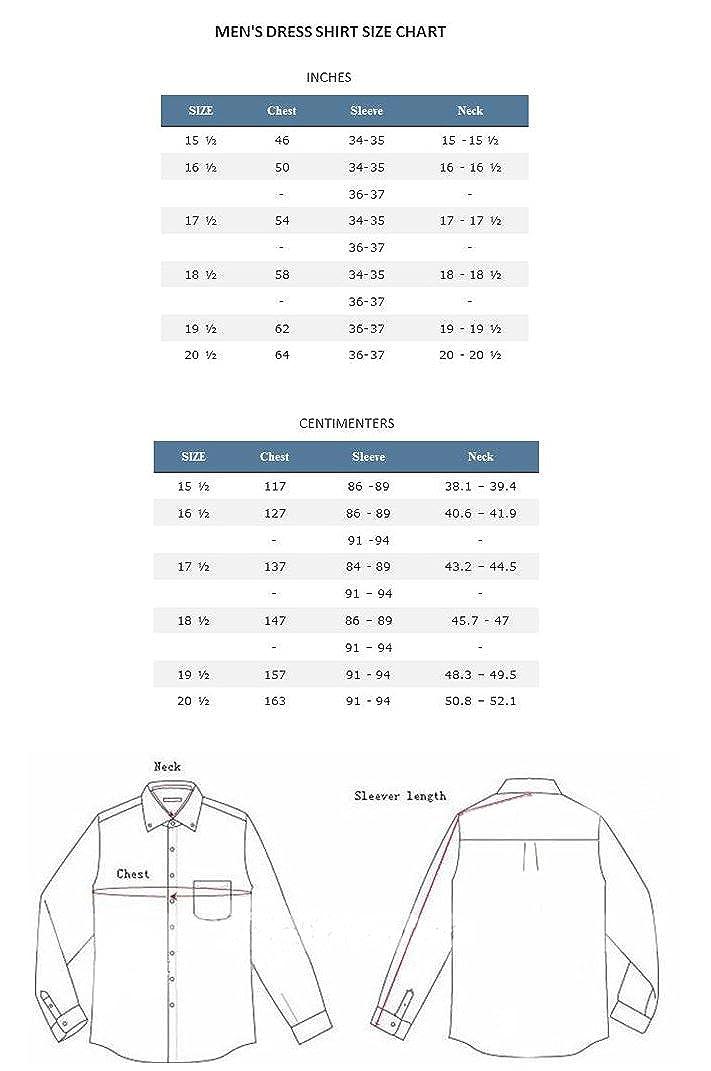 Fortino Landi Mens Cotton Blend Banded Collar Dress Shirt SG15-Liliac-19-19 1//2-36-37
