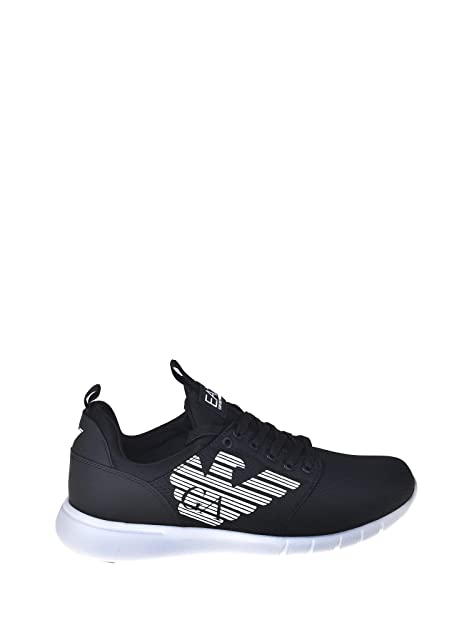 fd609a996b Emporio Armani Ea7 X8X007 XCC02 Sneakers Uomo Nero 46: Amazon.it ...