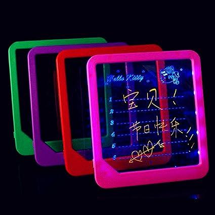 Cartel de escritura borrable iluminado en la oscuridad, no ...