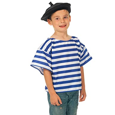 21a8bfd7213 Image Unavailable. Image not available for. Colour  Childrens French Top    Beret Fancy Dress ...