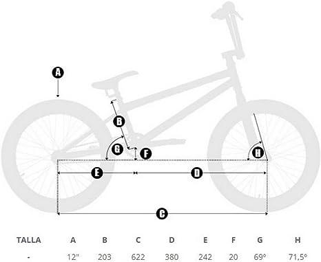 Monty 102 Bicicleta, Unisex niños, Rosa, 8