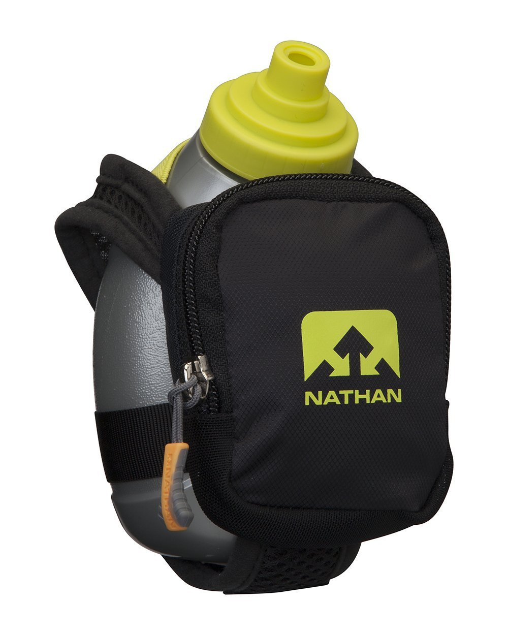 Nathan Quick Shot Plus Handheld Hydration Pack, Black by Nathan