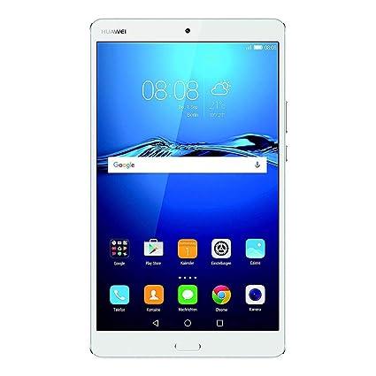 HUAWEI MediaPad M3 21,33 cm (8,4 Zoll) Tablet-PC (WiFi, Fingerabdrucksensor, OctaCore Prozessor, 4 GB RAM, 32 GB interner Spe