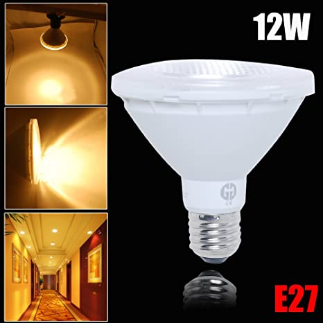 Excellent PAR30 LED Bulb E27 950LM 12W Warm White AC100-240V Flood Light Bulb Non Dimmable (Pack of 1) - - Amazon.com