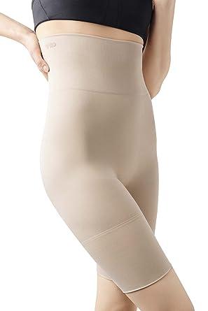 MD Damen Miederhose Figurformende Shapewear Bauch Weg Miederpants mit  Taillenformer-Effekt  Amazon.de  Bekleidung cfa6abd421