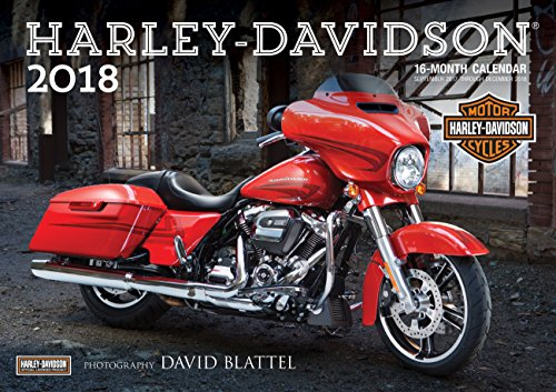New Harley Davidson Chopper - Harley-Davidson(r) 2018: 16-Month Calendar Includes September 2017 through December 2018