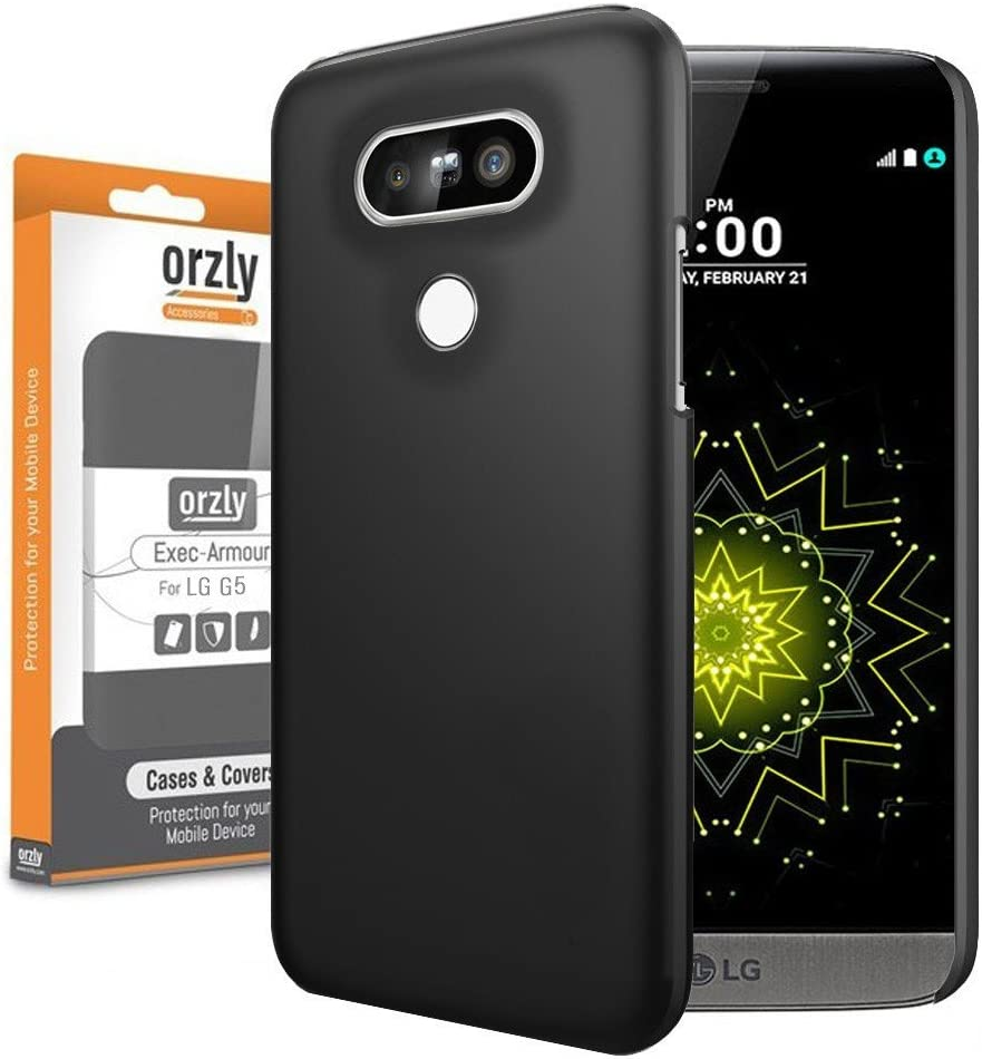 Orzly® - Exec-Armour Hard Back Case para LG G5 Smartphone (2016 ...