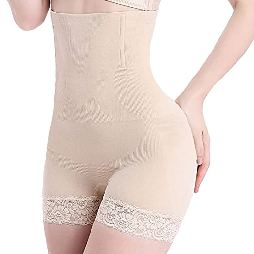 d81157f75eea8 Vacoco Women s Hi-Waist Body Shaper Butt Lifter Shapewear Trainer Tummy  Control Panties Seamless Thigh Slimmers Cincher at Amazon Women s Clothing  store