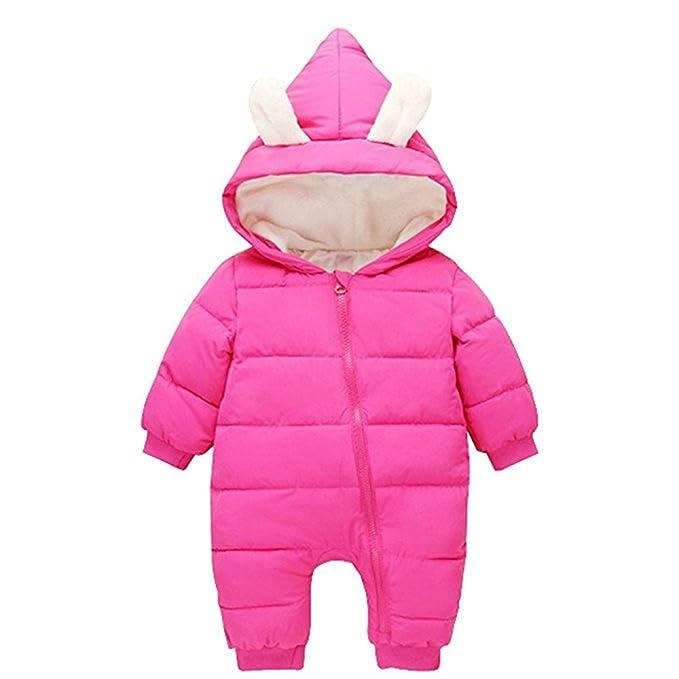 d83fab2ff FAIRYRAIN - Traje de Nieve - para bebé niña  Amazon.es  Ropa y ...