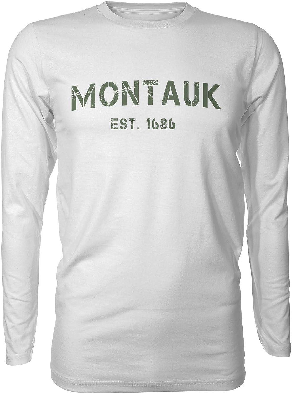 Montauk New York Bass Fishing  Long Sleeve Performance UPF50 T-Shirt