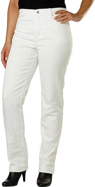 Gloria Vanderbilt Women/'s Amanda Classic Fit Tapered Leg Mid-Rise Jeans
