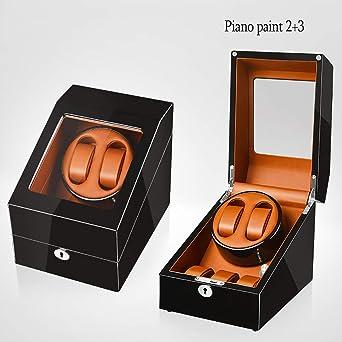 Caja giratoria para Relojes Estuche Guardar Relojes Winder Box 2 ...