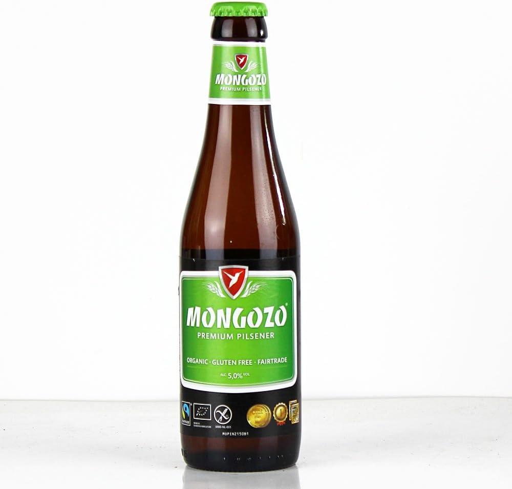 Mongozo Mango (6 botellas de 33 cl) (cerveza belga artesana)