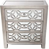 river of goods glam slam chest of drawers 28inch