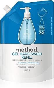 Method Gel Hand Wash Refill, Sea Mineral, 1L