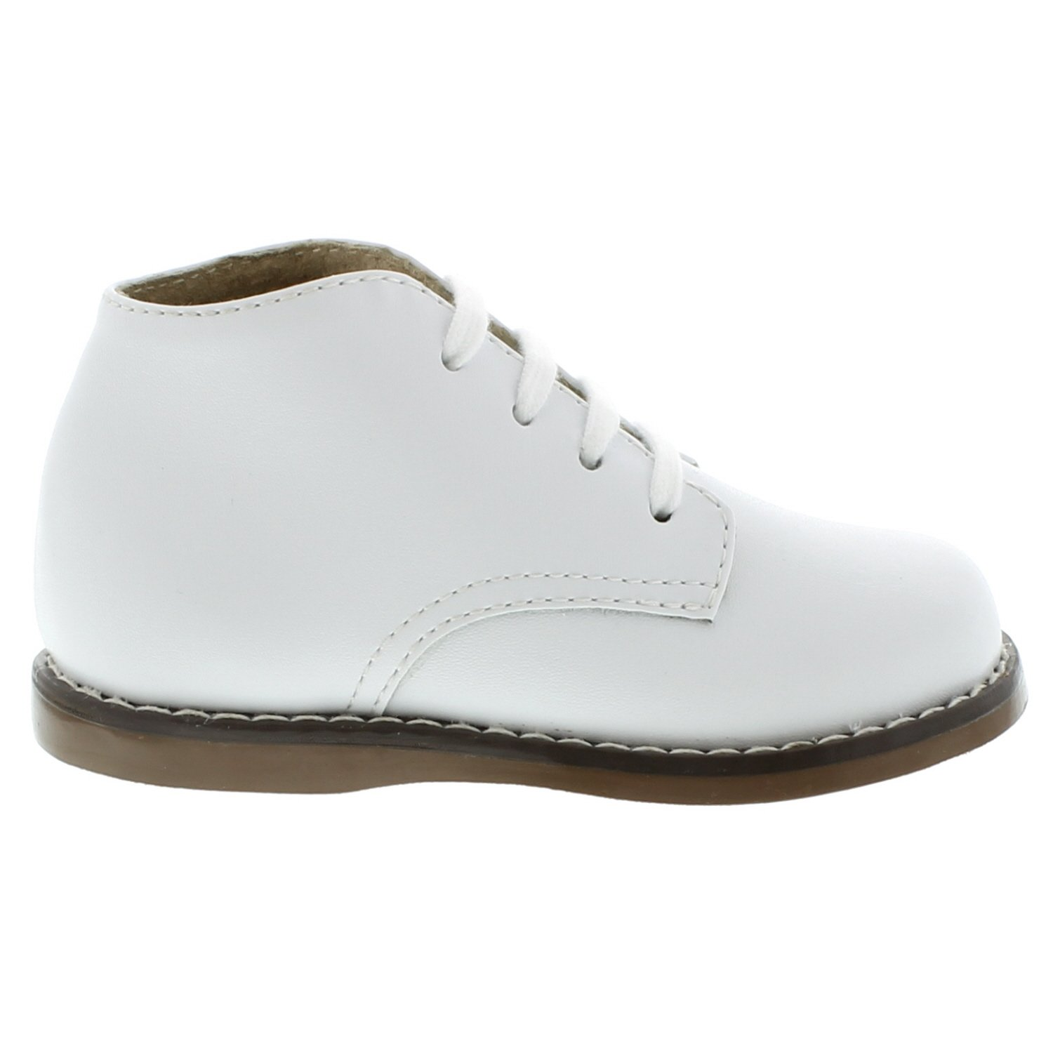 FootMates Unisex Todd 3 (Infant/Toddler) White Oxford 4 Toddler M/W by FOOTMATES (Image #2)