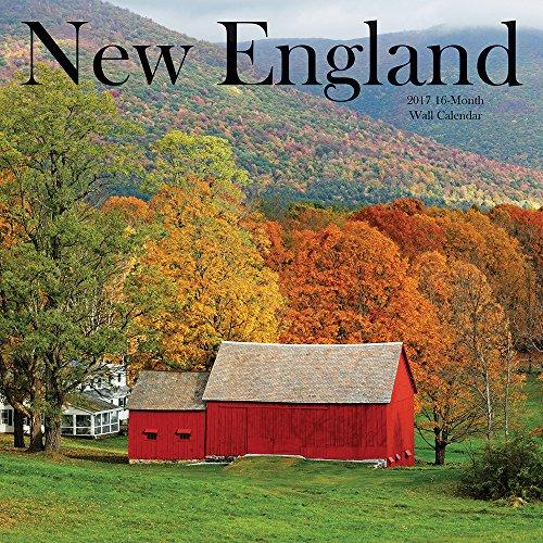2017 Monthly Wall Calendar - New England