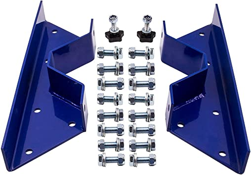 ECOTRIC Rear Frame C Notch Kit Bolt In for 1963-1972 Chevy C10 /& GMC Truck