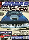 Mopar Action June 2008 Magazine SUPER SLICK 'CUDA! TRICKED-OUT TO THE MAX The First Street Hemi MOPARS THUNDER AT BRISTOL