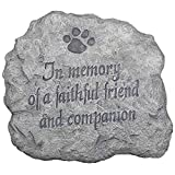 Evergreen Enterprises 22883 In Memory of a Faithful Friend and Companion Stepping Stone