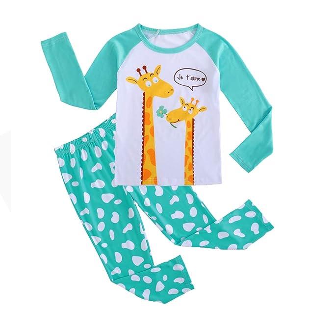Amazon.com: MyFav - Conjunto de pijama de 2 piezas para ...