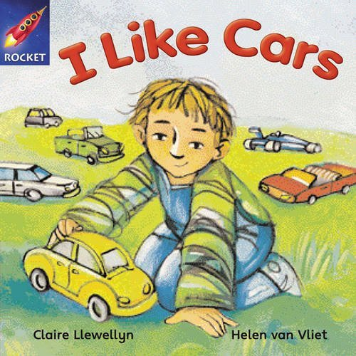 Rigby Star Independent Reception/P1 Pink Level: I Like Cars (3 Pack) by Ms Claire Llewellyn (9-May-2003) Paperback ()