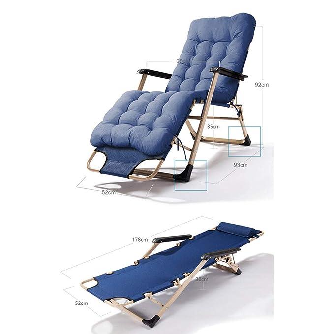 Amazon.com: YUNHAO Silla reclinable plegable para el ...