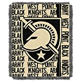 Military Academy OFFICIAL Collegiate, Double Play 46 x 60 Triple Woven Jacquard Throw