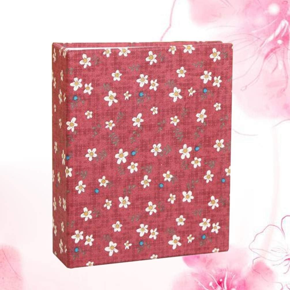 Garneck Photobook Album Baby Photo Album Family Album Floral Design Photo Album