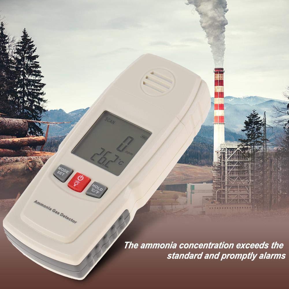 GM8806 0-40℃ Herramienta de Medición del Detector de Gas de Amoniaco de Pantalla LCD Digital: Amazon.es: Bricolaje y herramientas