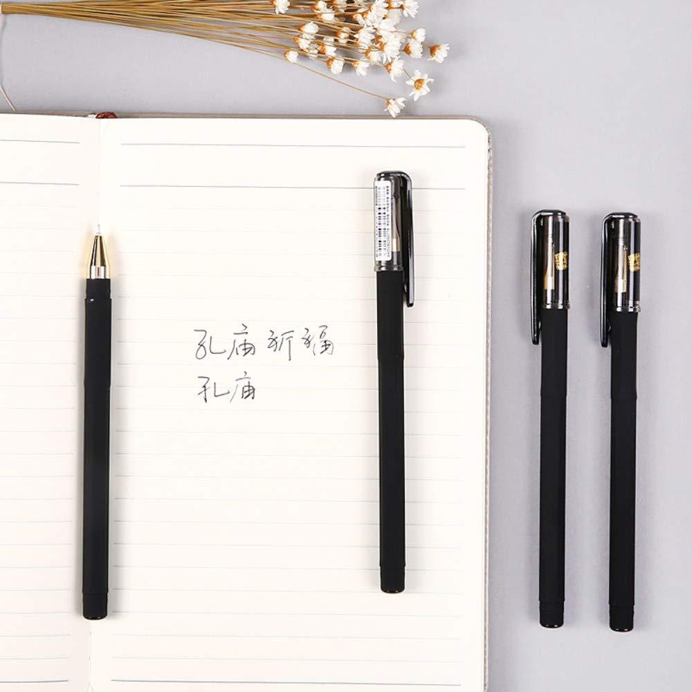 PENZZ Gel-Stiftstiftstift des Stiftes des Briefpapier-0.5Mm des Rußes Rußes Rußes Dünne Volle Volle Nadel 12   Box B07QBL79WM | Schönes Design  77cde4