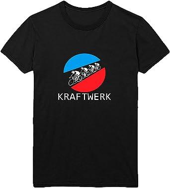 Kraftwerk Tour De Men Camiseta Hombre 100% algodón Camisa ...