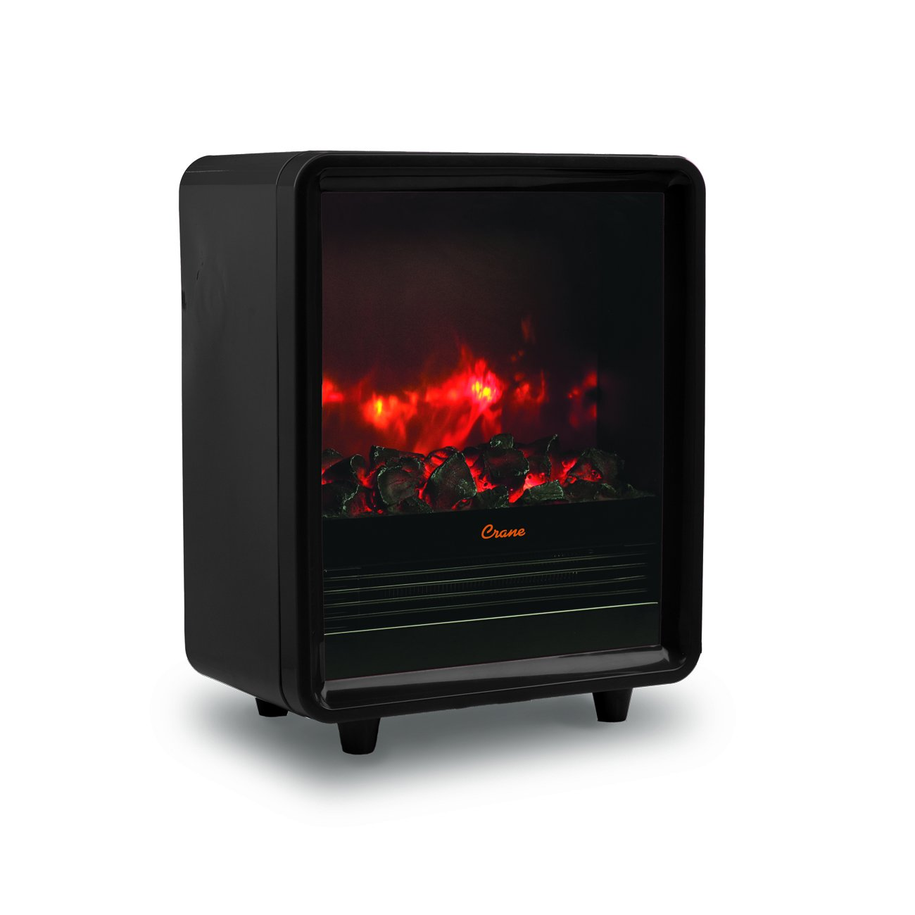Crane Fireplace Heater - Black