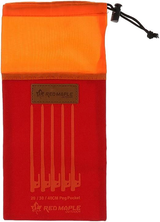 /étui de rangement sac de rangement portable avec cordon de serrage Utilisateur 4 pi/èces Gadget de camping piquets de tente
