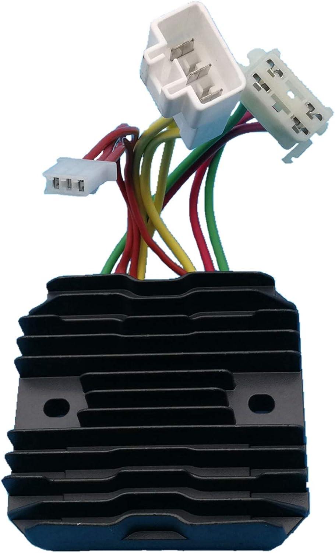 Tuzliufi Replace Voltage Regulator Rectifier Polaris 600 700 800 Dragon HO IQ Cleanfire Assault RMK Switchback Shift Touring Snowmobiles 2007 2008 2009-2015 4011731 4012476 4012930 4013587 New Z185