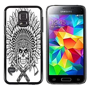 Dragon Case - FOR Samsung Galaxy S5 Mini, SM-G800 - Faith can move mountains - Caja protectora de pl??stico duro de la cubierta Dise?¡Ào Slim Fit