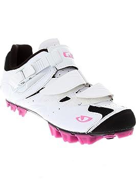 Giro - Manta para Mujer MTB/Spin Zapatos, Blanco/Magenta, Blanco y Rojo, Talla 36: Amazon.es: Deportes y aire libre