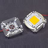 UPGRADE INDUSTRIES [1x] 5W to 10W Aluminum LED Thermal Heat Sink with Active Cooling Fan 12VDC 90mA by UPGRADE INDUSTRIES
