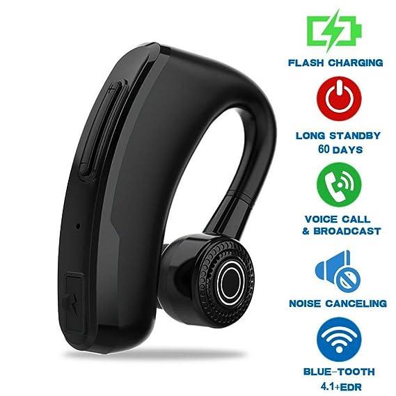 0caf7c37d08 Goglor Bluetooth Earbud Earpieces,Upgrade V10 Wireless V4.1 Earphones,Noise  Canceling/